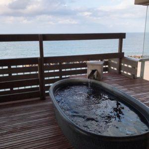白扇旅館の露天風呂