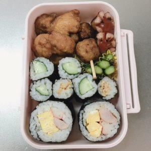 カンタン酢で作った巻き寿司