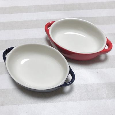 セリアのグラタン皿