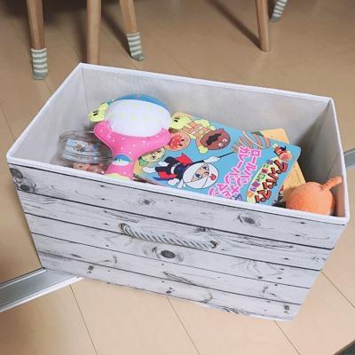 大きいサイズのおもちゃ箱