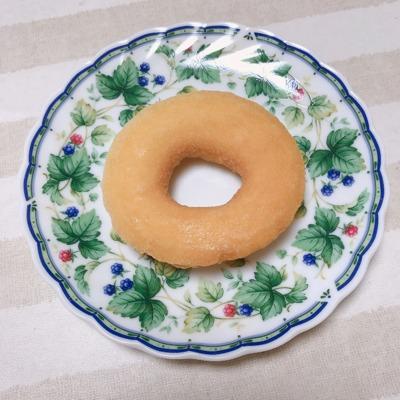 セブンプレミアムのふんわりドーナツを袋から出した写真