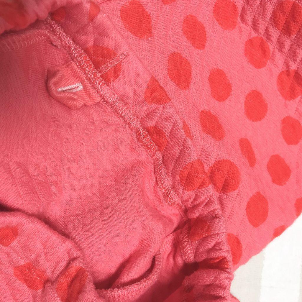 キルトパジャマのズボンの生地の厚さ