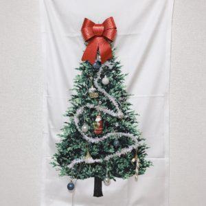 クリスマスタペストリーの完成写真