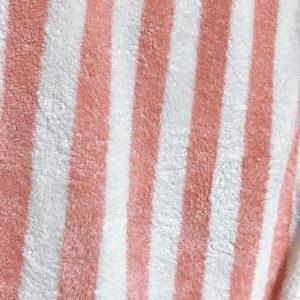 マイクロファイバーバスタオルを洗濯した後の写真